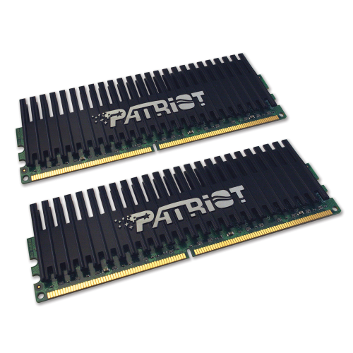 Patriot DIMM 4 GB DDR2-1066 Kit  (PVS24G8500ELKR2, Viper-Serie)