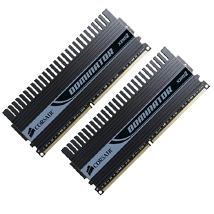 Corsair DIMM 4 GB DDR2-1066 Dominator EPP Kit  (TWIN2X4096-8500C5D, Dominator Serie)
