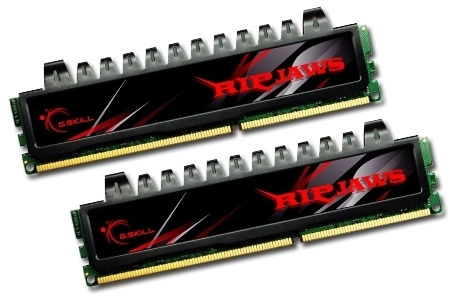 G-Skill DIMM 4 GB DDR3-1333 Kit  (F3-10666CL7D-4GBRH, Ripjaws-Serie)