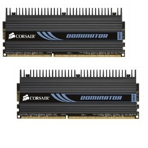 Corsair DIMM 4 GB DDR3-1600 Kit  (TW3X4G1600C9D, Dominator)