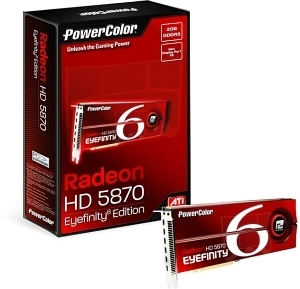 PowerColor HD5870 Eyefinity 6 Edition  (Retail, 6x Mini-DisplayPort)